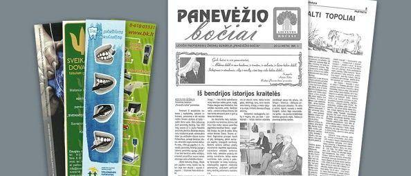 laikrasciu spausdinimas