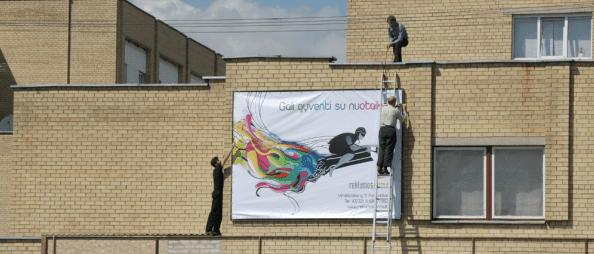 reklaminių tentų gamyba